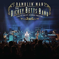 DICKEY BETTS - RAMBLIN' MAN LIVE AT THE ST. GEORGE THEATRE BLURAY