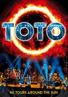 TOTO - DEBUT 40TH ANNIVERSARY LIVE: 40 TOURS AROUND SUN BLURAY