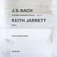 BACH / KEITH - J.S. BACH: THE WELL JARRETT - J.S. BACH: THE CD