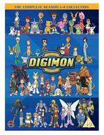 DIGIMON - DIGITAL MONSTERS SEASON 1 TO 4 DVD [UK] DVD