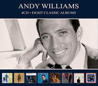 ANDY WILLIAMS - EIGHT CLASSIC ALBUMS CD