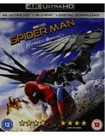 SPIDER-MAN - HOMECOMING 4K ULTRA HD [UK] 4K BLURAY