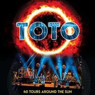 TOTO - 40 HOURS AROUND THE SUN BLURAY