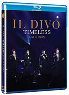 IL DIVO - TIMELESS LIVE IN JAPAN BLURAY