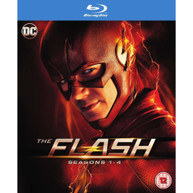 THE FLASH SEASONS 1 TO 4 BLU-RAY [UK] BLURAY