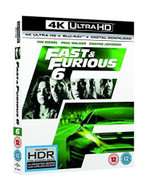 FAST & FURIOUS 6 - FAST AND THE FURIOUS 6 4K ULTRA HD [UK] 4K BLURAY