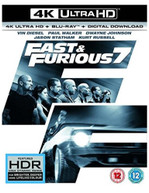 FAST & FURIOUS 7 - FURIOUS 7 4K ULTRA HD [UK] 4K BLURAY