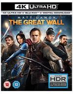 THE GREAT WALL 4K ULTRA HD [UK] 4K BLURAY