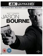 BOURNE - JASON BOURNE 4K ULTRA HD [UK] 4K BLURAY