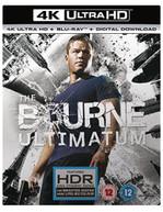 BOURNE - THE BOURNE ULTIMATUM 4K ULTRA HD [UK] 4K BLURAY