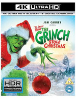 HOW THE GRINCH STOLE CHRISTMAS 4K ULTRA HD [UK] 4K BLURAY