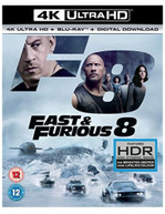 FAST & FURIOUS 8 - THE FATE OF THE FURIOUS 4K ULTRA HD [UK] 4K BLURAY