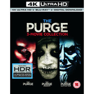 THE PURGE / THE PURGE - ANARCHY / THE PURGE - ELECTION YEAR 4K [UK] 4K BLURAY