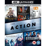 THE ACTION COLLECTION (5 FILMS) 4K ULTRA HD [UK] 4K BLURAY