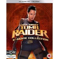 LARA CROFT - TOMB RAIDER / LARA CROFT - TOMB RAIDER 2 4K ULTRA HD [UK] 4K BLURAY