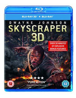 SKYSCRAPER 3D + 2D BLU-RAY [UK] BLURAY