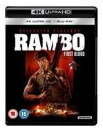 RAMBO - FIRST BLOOD 4K ULTRA HD [UK] 4K BLURAY