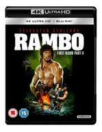 RAMBO - FIRST BLOOD PART II 4K ULTRA HD [UK] 4K BLURAY