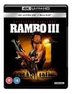 RAMBO PART III 4K ULTRA HD [UK] 4K BLURAY