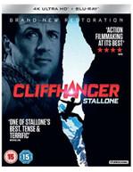 CLIFFHANGER 4K ULTRA HD + BLU-RAY [UK] 4K BLURAY