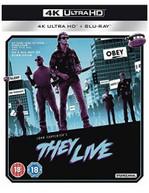 THEY LIVE 4K ULTRA HD [UK] 4K BLURAY