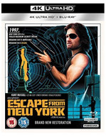 ESCAPE FROM NEW YORK 4K ULTRA HD [UK] 4K BLURAY