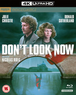 DON'T LOOK NOW 4K BLURAY