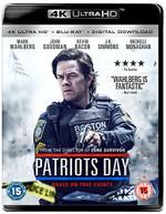PATRIOTS DAY 4K ULTRA HD [UK] 4K BLURAY