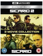 SICARIO / SICARIO 2 - SOLDADO 4K ULTRA HD + BLU-RAY [UK] 4K BLURAY
