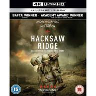 HACKSAW RIDGE 4K ULTRA HD + BLU-RAY [UK] 4K BLURAY