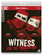 WITNESS FOR THE PROSECUTION BLU-RAY [UK] BLURAY