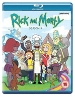 RICK AND MORTY SEASON 2 BLU-RAY [UK] BLURAY