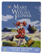 MARY & THE WITCH'S FLOWER STEELBOOK BLU-RAY [UK] BLURAY