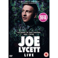 JOE LYCETT - I'M ABOUT TO LOSE CONTROL AND I THINK JOE LYCETT LIVE DVD [UK] DVD