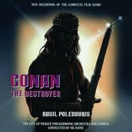 BASIL POLEDOURIS - CONAN THE DESTROYER / SOUNDTRACK CD