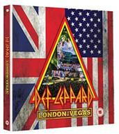 DEF LEPPARD - LONDON TO VEGAS BLURAY