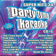 PARTY TYME KARAOKE: SUPER HITS 34 / VARIOUS CD