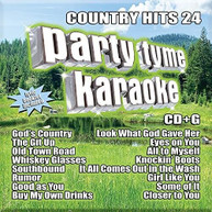 PARTY TYME KARAOKE: COUNTRY HITS 24 / VARIOUS CD