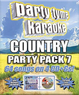 PARTY TYME KARAOKE: COUNTRY PARTY PACK 7 / VARIOUS CD