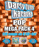 PARTY TYME KARAOKE: POP MEGA PACK 4 / VARIOUS CD