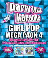 PARTY TYME KARAOKE: GIRL POP MEGA PACK 4 / VARIOUS CD