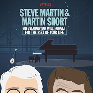 STEVE MARTIN / MARTIN  SHORT - AN EVENING YOU WILL FORGET FOR THE REST VINYL