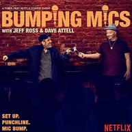 JEFF ROSS / DAVE  ATTELL - BUMPING MICS WITH JEFF ROSS & DAVE ATTELL VINYL