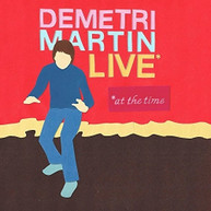 DEMETRI MARTIN - LIVE (AT) (THE) (TIME) CD