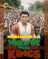 CRITERION COLLECTION: WHEN WE WERE KINGS BLURAY