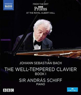 J.S. BACH /  SCHIFF - WELL - WELL-TEMPERED CLAVIER BOOK I BLURAY
