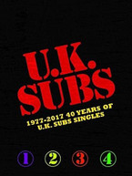 UK SUBS - 1977-2017: 40 YEARS OF UK SUBS SINGLES CD