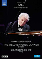 J.S. BACH /  SCHIFF - WELL - WELL-TEMPERED CLAVIER BOOK I DVD