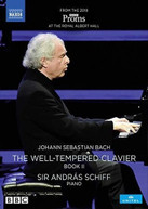 J.S. BACH /  SCHIFF - WELL - WELL-TEMPERED CLAVIER BOOK II DVD