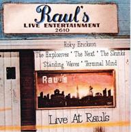 LIVE AT RAULS / VARIOUS CD